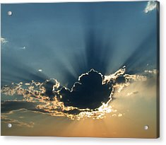 Acrylic Print featuring the photograph Rays Of Light by Shane Bechler