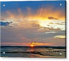Rays Of Light Acrylic Print by Lisa Merman Bender