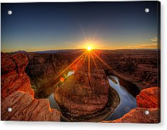 Rays Of Sunshine Acrylic Print