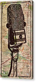Rca 44 On Austin Map Acrylic Print by William Cauthern