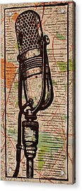 Rca 77 On Austin Map Acrylic Print by William Cauthern