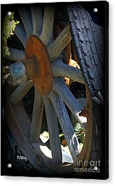 Re-tired Acrylic Print by Patrick Witz