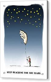 Reach For The Stars Acrylic Print