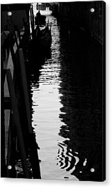 Reaching Back - Venice Acrylic Print