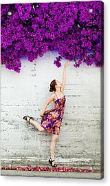 Reaching For The Summer Acrylic Print by Viacheslav Savitskiy