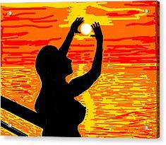 Reaching To The Sun Acrylic Print by Anand Swaroop Manchiraju