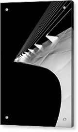 Reading A Sundial At Midnight Acrylic Print by Alex Lapidus