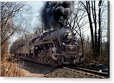 Acrylic Print featuring the photograph Reading Line 2100 by Judi Quelland