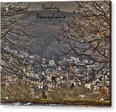 Reading Pennsylvania Acrylic Print