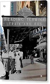 Reading Terminal Acrylic Print
