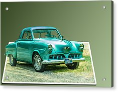 Classic - Car - Studebaker - Ready For A Spin? Acrylic Print by Barry Jones