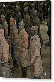 Ready For Duty In China Acrylic Print by Will Burlingham