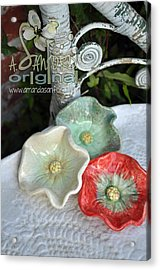 Ready Get Set Acrylic Print by Amanda  Sanford