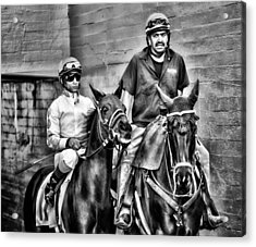 Ready To Race Acrylic Print by Camille Lopez