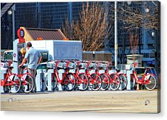 Ready To Ride Acrylic Print by Dan Sproul