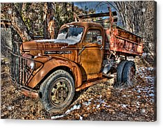 Ready To Roll Acrylic Print