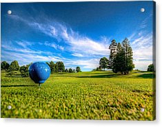 Ready To Tee Off Acrylic Print
