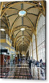 Acrylic Print featuring the photograph Reagan National Airport by Suzanne Stout