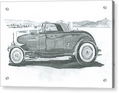 Real Car Guy...real Car Acrylic Print by Stacey Becker