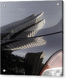 Acrylic Print featuring the photograph Rear Reflections by Steven Milner