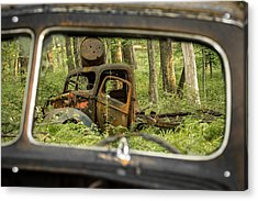 Rear View Acrylic Print
