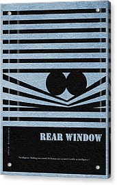 Rear Window Acrylic Print by Ayse Deniz