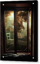 Rear Window Acrylic Print by Taylan Apukovska