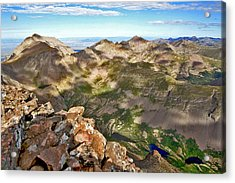 Reason To Climb Acrylic Print