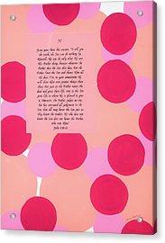 Reasons For The Cross Iv Acrylic Print