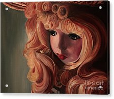 Rebecca Acrylic Print by Jane Autry
