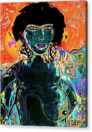 Rebel Acrylic Print by Natalie Holland