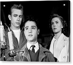 Rebel Without A Cause, From Left, James Acrylic Print