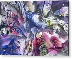 Rebirth Acrylic Print by Cristina Handrabur