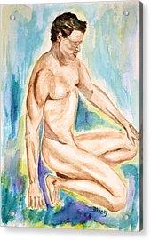 Rebirth Of Apollo Acrylic Print by Donna Blackhall