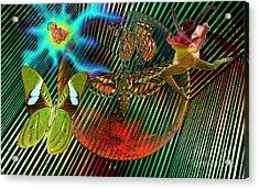 Rebirth Of Life Acrylic Print