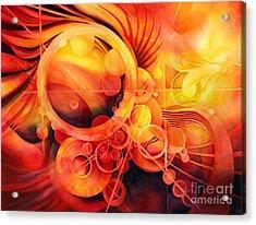 Rebirth - Phoenix Acrylic Print