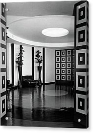 Reception Hall At The Terrace Club Acrylic Print
