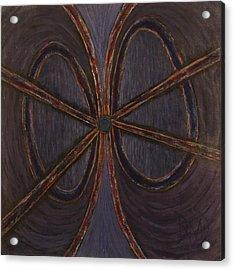 Recession Ribbon Acrylic Print by David Douthat