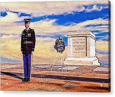 Recitation Of The Requirements Of Honor Guards Acrylic Print