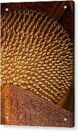 Reclining Buddha - Wat Pho - Bangkok Thailand - 011310 Acrylic Print