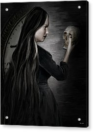 Recognition Of Death Acrylic Print by Lourry Legarde