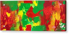 Recombinant Landscape 3 Acrylic Print by Paul Ashby