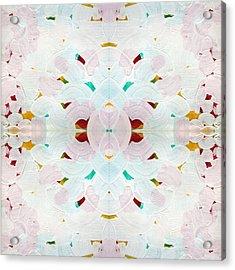 Recombinant Mandala 2 Acrylic Print