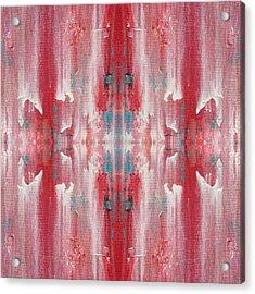 Recombinant Navajo Weaving Acrylic Print