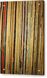 Records Acrylic Print