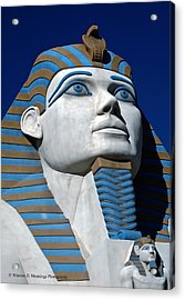 Recreation - Great Sphinx Of Giza Acrylic Print