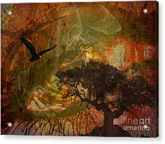 Recurring Dream Acrylic Print by Jessie Art