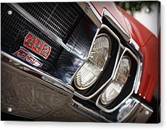 Red 1966 Olds 442  Acrylic Print by Gordon Dean II