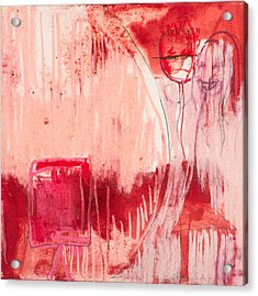 Red. 4 Acrylic Print by Marie Tosto