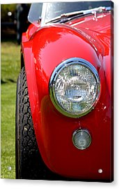 Acrylic Print featuring the photograph Red Ac Cobra by Dean Ferreira